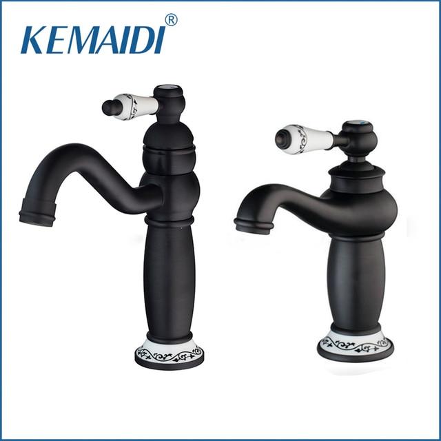 KEMAIDI Elephant Nose Bathroom Basin Torneira Oil Rubbed Black ...