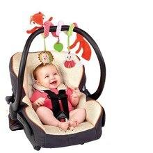 Многофункциональный Fox Погремушки Коляски Автомобиль Кровать Висит Младенцев Куклы Плюшевые Toys With Teddy Toys TY