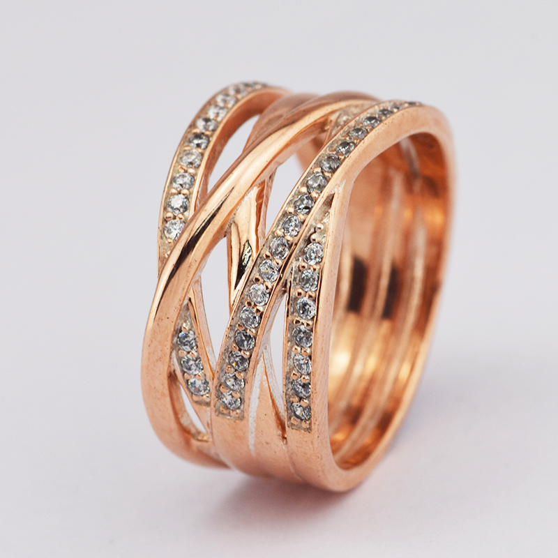 bright ring stone pave cut entwined side rings engagement engraving diamond with