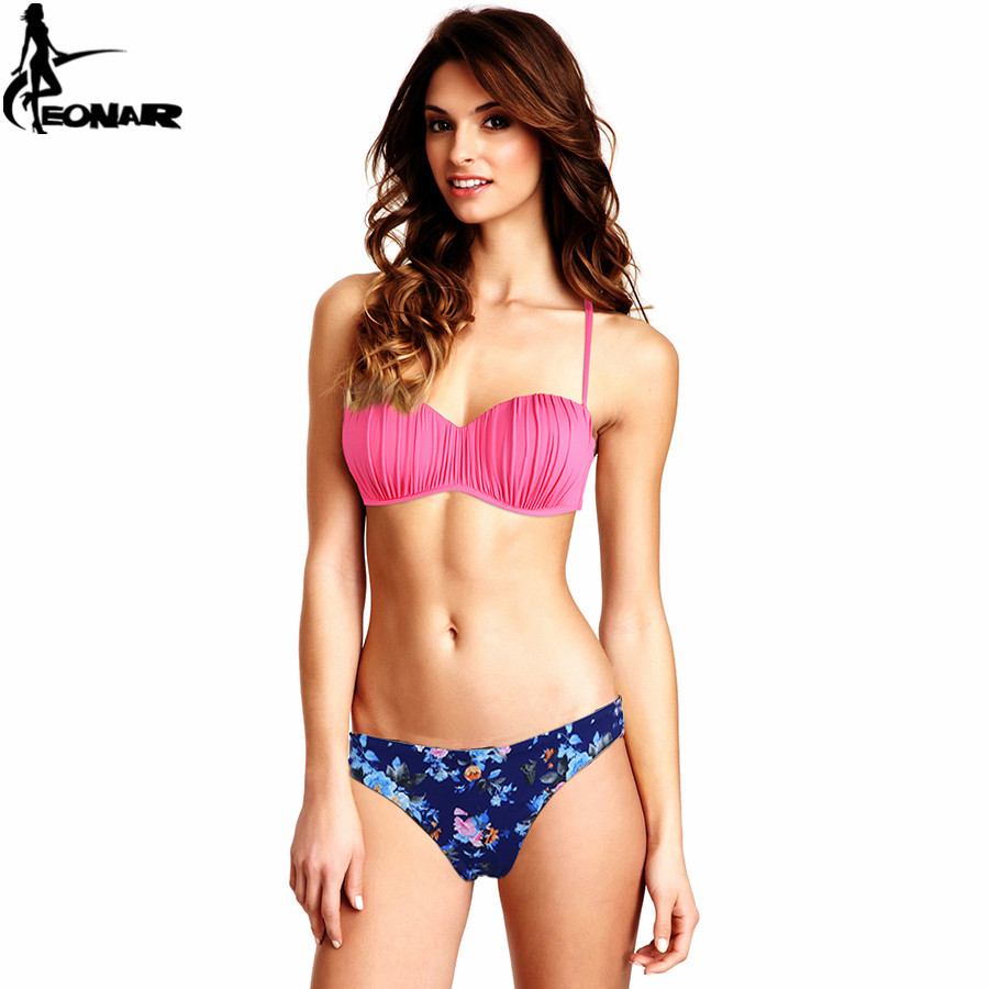 EONAR Swimwear 17 Top Wavy Push Up Bikini Sexy Bikini Set Brazilian Bikinis Women Bathing suit Swimsuit Plus Size Swimwear XXL 13