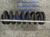 1pcs 25*145*400mm series spot spring 25mm wire compression pressure springs 25*145*400mm