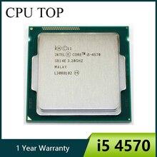 Intel Core i5 4570 3.2GHz 6MB 소켓 LGA 1150 쿼드 코어 CPU 프로세서 SR14E