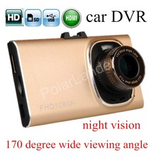 high quality Full HD GT900 Car DVR Camera Recorder Night Vision G-Sensor Dash Cam HDMI 170 degree wide viewing angle 3 inch(China)