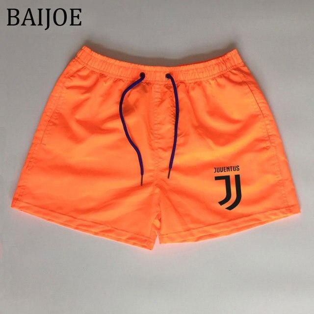 2018 pantalones cortos de playa para hombre de marca de secado rápido cortos  de impresión Casual a55a450df02d