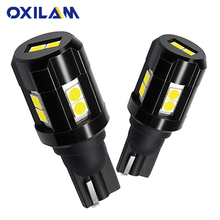 OXILAM 2Pcs T15 W16W LED Canbus No Error 921 912 Car Bulb 3030 SMD Backup Reverse