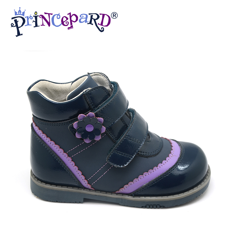 Princepard Need Customize in Advance 20 days flats orthopedic Shoes for girl Sneakers Childrens casual shoes Genuine leathe