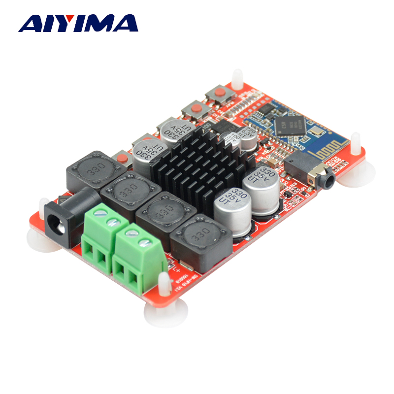 Aiyima TDA7492 CSR8635 V4.0 Bluetooth Ricevitore Audio Amplificatore Digitale Consiglio 2X50 W Amplificatori