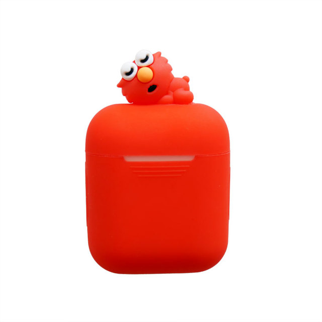 wholesale dealer bb37c 2f582 US $12.64 14% OFF|Newest Cool Earphone Case So Cute Animal Soft Silicone  Case For Apple Airpods Accessories Protective Cover for Airpod-in Earphone  ...