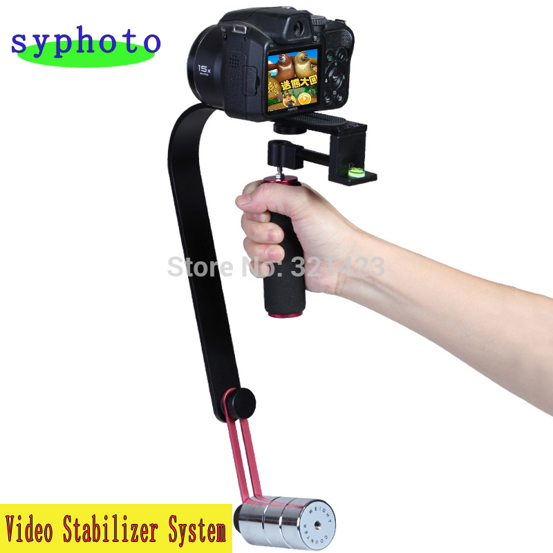 New Pro Smooth Video Stabilizer Handheld Handle Cam Grip Steadicam for DV Camcorder DSLR Camera Free shipping ...