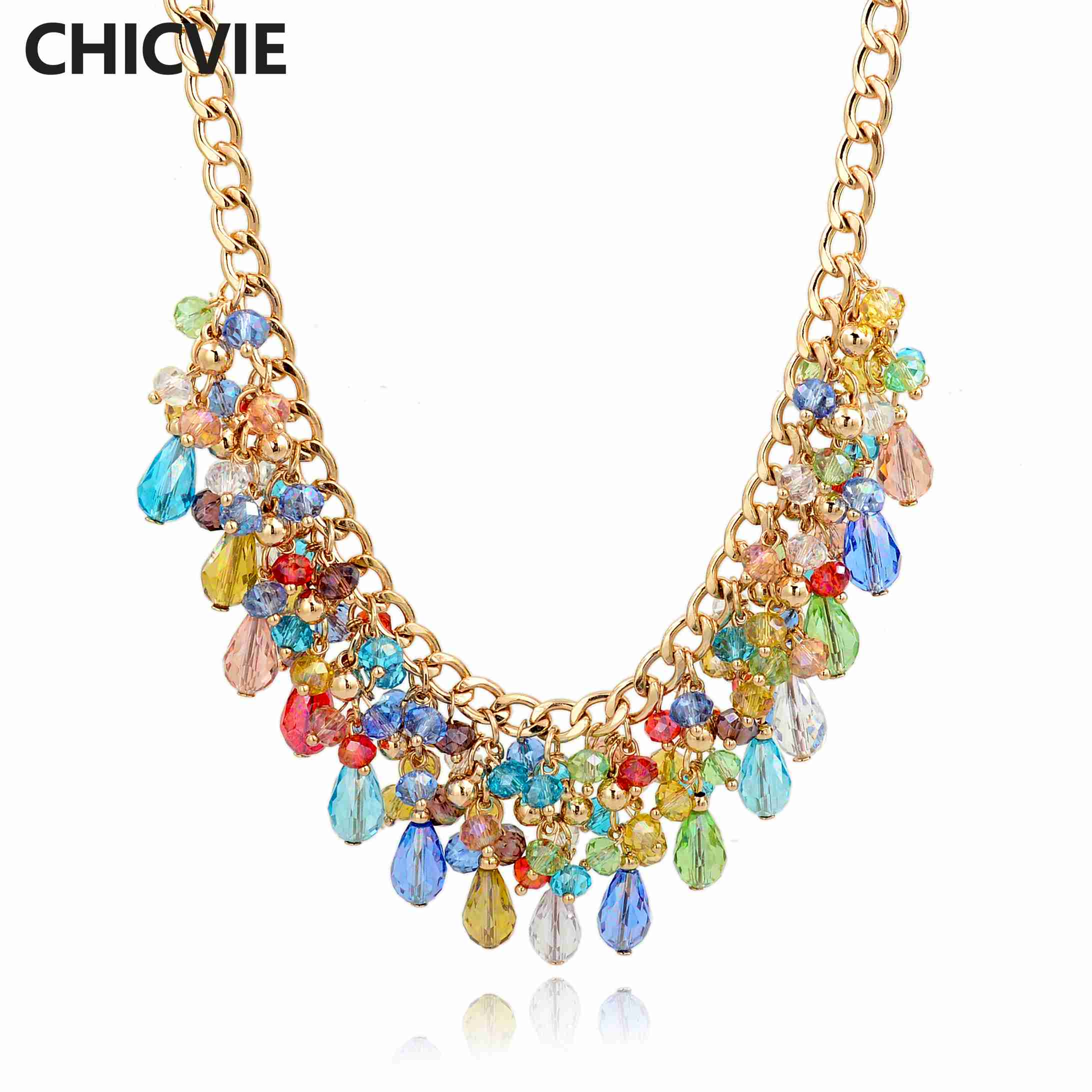closet necklace gemstone product pink chunky statement ruginavincys glamour psx
