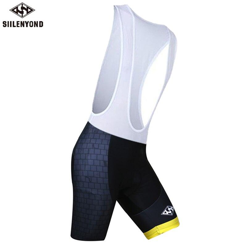 Siilenyond, мужская спортивная одежда, велосипедные шорты, мягкие, дышащие, для верховой езды, mtb, велосипедные шорты с нагрудником, анти-пот, шорты для велосипедистов mtb - Color: color 12