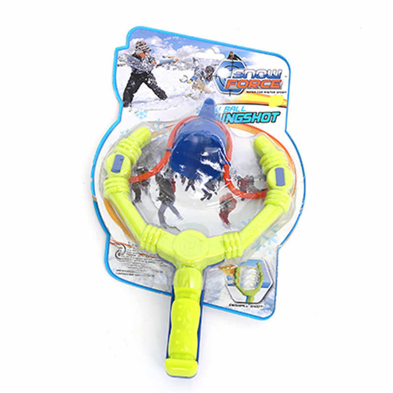Children Winter Toys Skiing Snowball Thrower Skiing Funny Toy Outdoor Play  Snow Tool Toy Kids Funny Entertainment Snow Toy