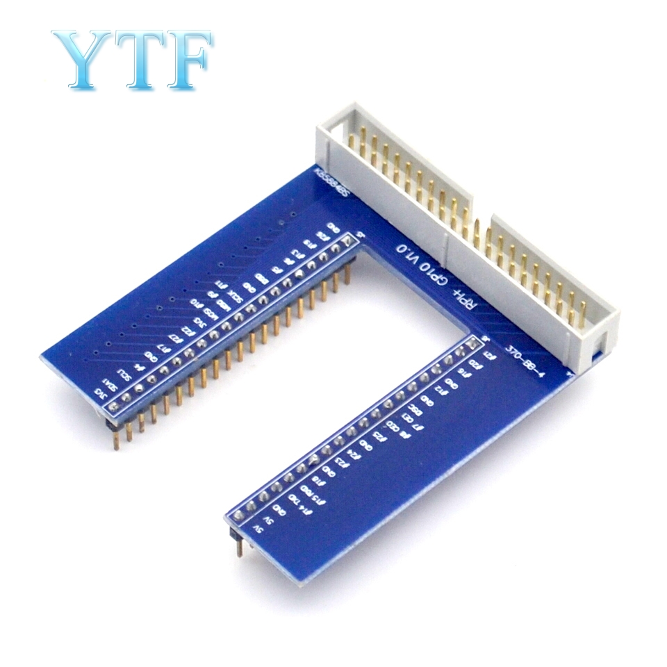 Raspberry Pi 3 B + GPIO U-Shaped Adapter Plate V2 Breadboard Expansion Board