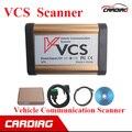 Calidad A + Englsih VCS de Comunicación Del Vehículo VCS Interfaz de Escáner/Ruso/Español/Francés con el envío libre