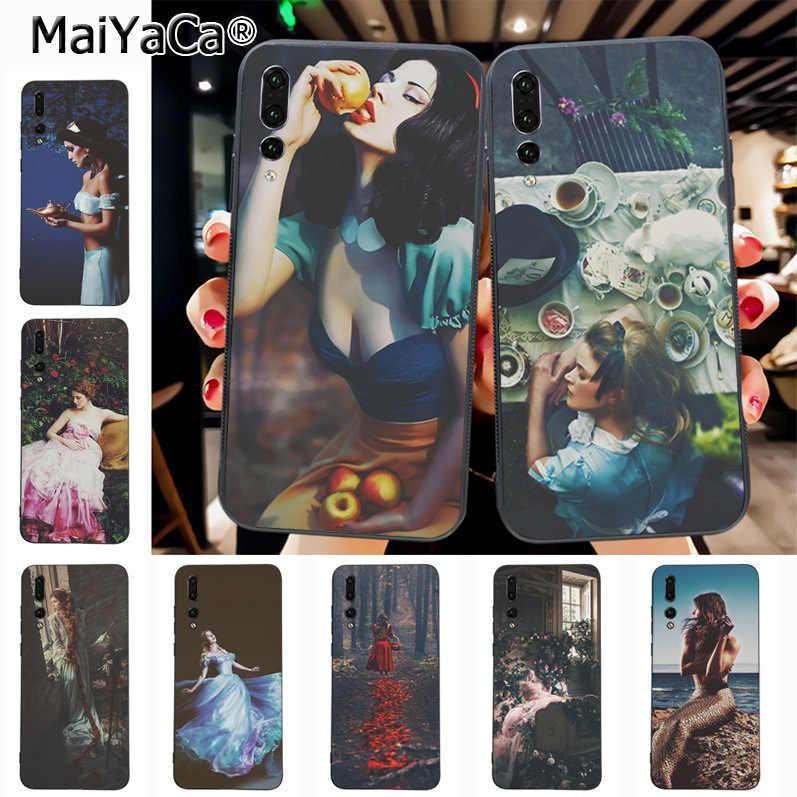Maiyaca Disney Princess New Luxury Fashion Cell Phone Case