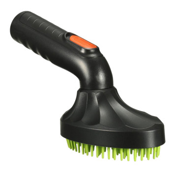 Black / Green Pet Grooming Brush Pets Protection