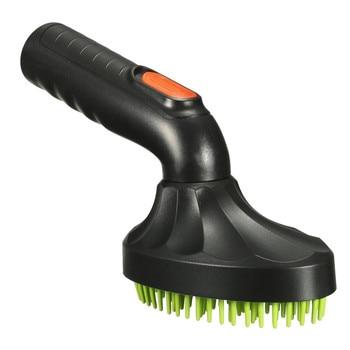 Black / Green Pet Grooming Brush Pets Protection