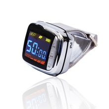 цена на Factory offer Diabetes medical equipment 650nm soft laser laser therapy watch