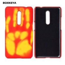 For Oneplus 7 Pro Case 1+7 Pro Thermal Sensor Heat Sensitive Case One Plus Six Color Change Oneplus 6 A6000 Hot Change Color