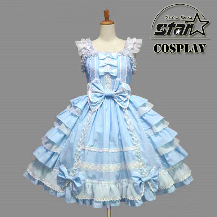 2018 New Halloween Costume For Girls Anime Clothing Lolita Dress Love Live Minami Kotori Cosplay Kimono Kids  Waitress Outfit japanese anime kid baby girls sailor moon cosplay bowknot dress kawaii lolita uniform children halloween party lovely costume
