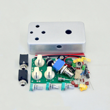DIY Electric Guitar Distortion metal foot pedal  kit  true bypass  for guitar Parts & Accessories