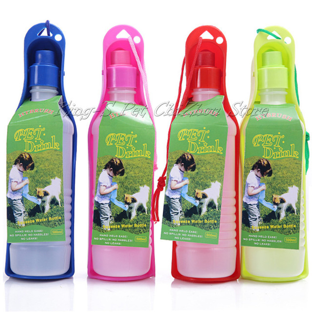 Utensils PP Glass Cat Drinking Fountain Automatic Water Bottle Pet Dispenser Feeder Dual Dog Automatic Water Bowl Pet Bottle