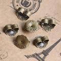 500pcs 9mm Antique Bronze Copper Earplugs,earmuffs,Earring studs cameo,earrings base setting stud accessories