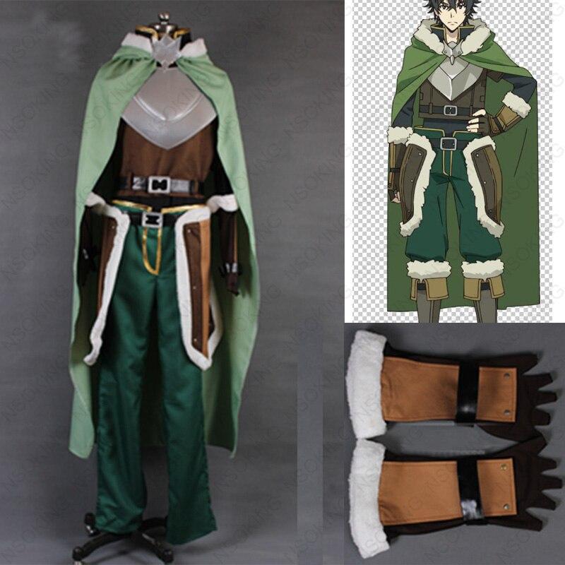 Anime Tate no Yuusha no Nariagari The Rising of the Shield Hero Naofumi Iwatani Cosplay Costume