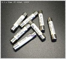 1000V 500mA Ceramic Fuse 6.3 x 32mm White for Multimeter 5 PCS