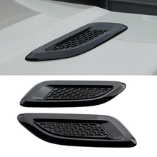 Car Styling Air Wing Trim Dummy Hood Vent For Discovery 4 Range Rover Evoque 2 Freelander
