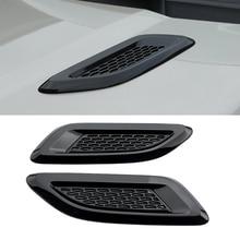 Car-Styling Aire Wing Recortar Maniquí Campana de Ventilación Para Discovery 4 Range Rover Evoque Freelander 2 2 ABS plástico de Aire de Ventilación de Salida Cubre