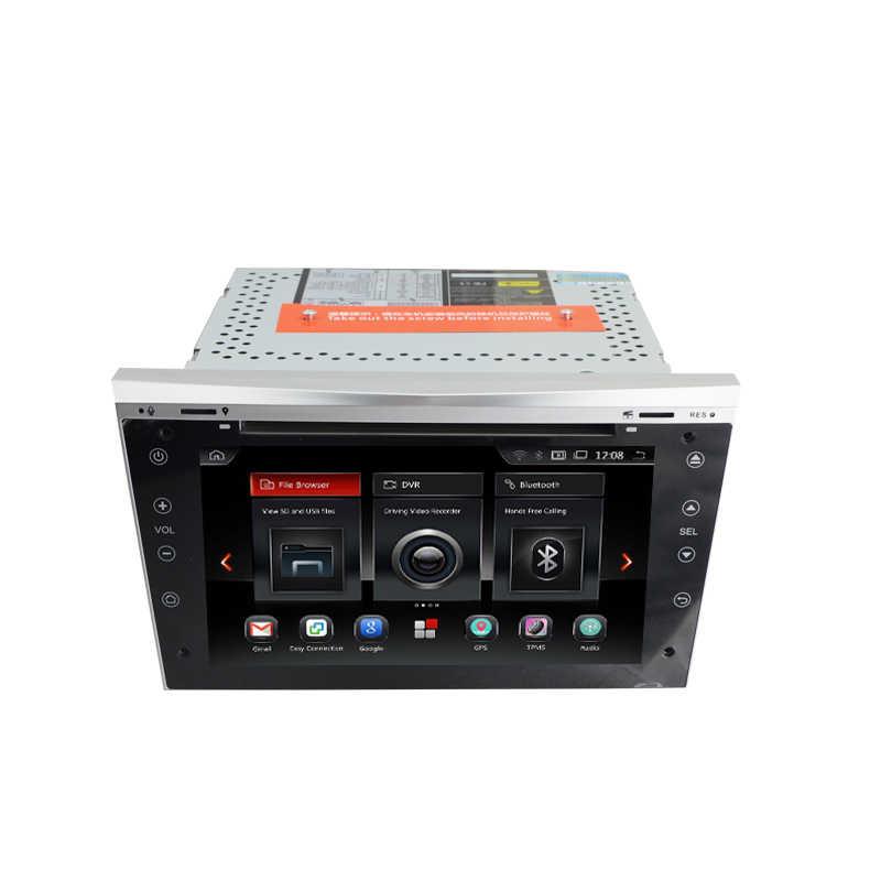 アンドロイド 9.0 オクタコア車 DVD プレーヤーステレオシステムオペルアストラベクトラアンタラ Zafira Corsa GPS ラジオフルタッチマルチメディア