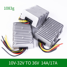 цена на 10V-32V to 36V 14A 17A DC DC Converter Step Up Boost Voltage Module Power Supply for Cars Lights CE RoHS Certificated