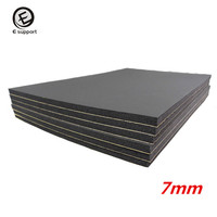 EE Support 6 Sheets 7mm Car Sound Proofing Insulation Deadening Closed Cell Foam 30 50cm Auto