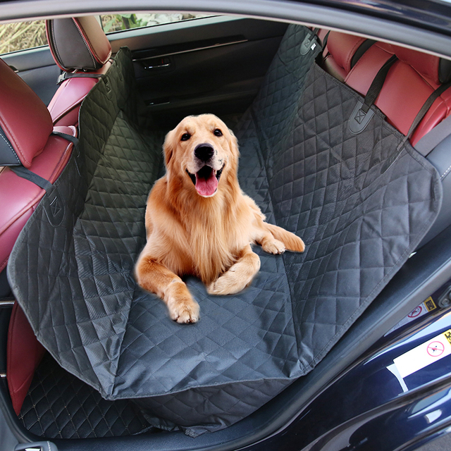 Universal Dog Car Seat Cover Anti Slip Pet Carrying Bag Bench Cushion Foldable