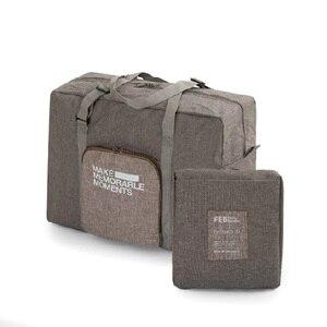 High Quality Polyester Travel Bag Men Brand Large Duffle Bag Folding Garment Bag Portable Luggage Women Travel Organizer Weekend