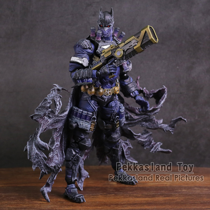 Variant Play Arts Kai DC COMICS Batman Rogues Gallery Mr. Freeze PVC Action Figure Collectible Model Toy 10pcs make up palette set eyeshadow lip gloss foundation powder blusher puff tool