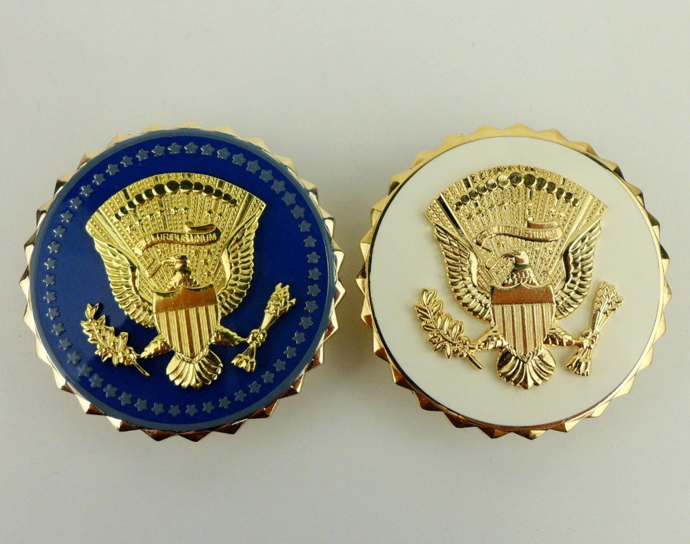 Two PSB Pins American Vice Presidential Service Badge ID World military Store