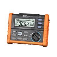 Insulation Resistance Tester PROTMEX MS5205 Analog and Digital 2500V megger meter 0.01~100G Ohm with Multimeter