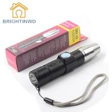 UV Lamp USB Rechargeable 3 Mode 365nm Ultraviolet Mini UV LED Flashlight Fluorescent Jade Money Detector UV Curing Light UV LED