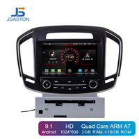 JDASTON Android 9.1 Car DVD Player For Opel Vauxhall Holden Insignia 2014 2017 Din Car Radio GPS Navigation Multimedia Stereo