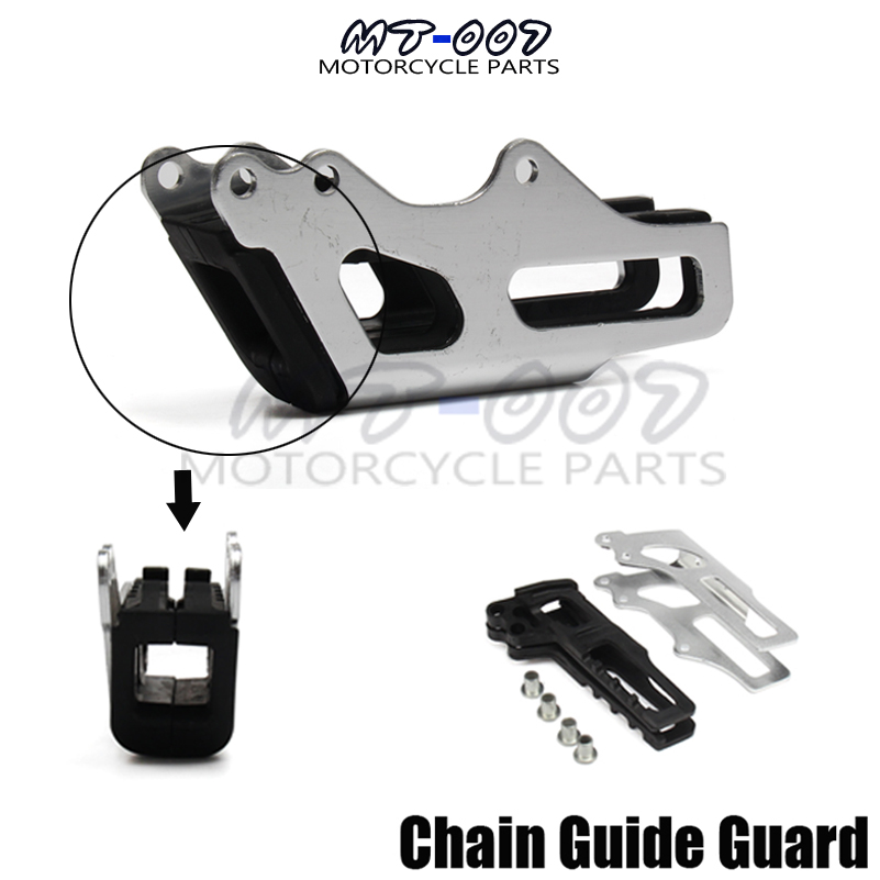 Motorcycle Chain Guide Guard For CR125R/250R 05-07 CRF250X 06-06 CRF450X 05-07 CRF250R 05-06 CRF450R 05-06 Motorbike Parts