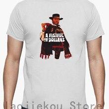 301f76d1 100% cotton Funny men T shirt Women Fashion tshirt A Fistful Of Dollars T-