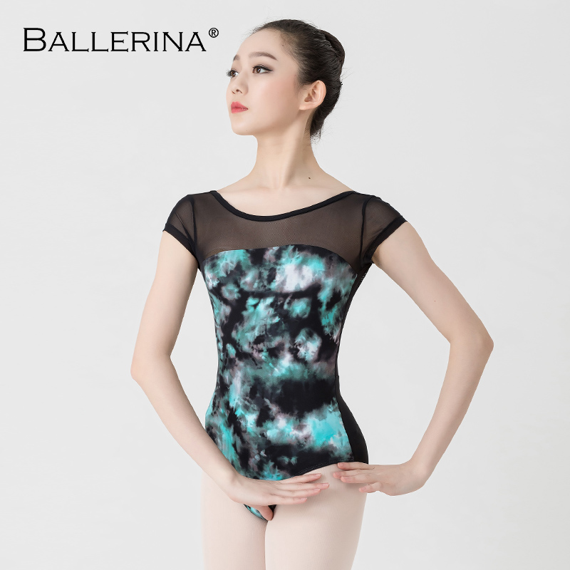 Image 5 - Ballet Leotards For Women Yoga Sexy Dance Professional training gymnastics Digital printing Leotards Ballerina 3570-in Ballet from Novelty & Special Use