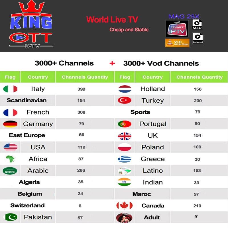Iptv Espa a España holandés Turquía Portugal Italia francia suscripción Iptv adulto M3u Youporn Vod para X96 H96 Mag Htv Android Tv box