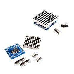 Модуль точечной матрицы MAX7219, микроконтроллер, набор «сделай сам» (hei)