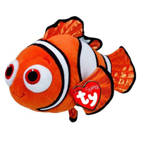 a28a4a9cb15 Pyoopeo Original 6 quot  15cm Ty Beanie Babies Finding Dory Nemo Fish Plush  Regular Soft Stuffed Animal Collection Toy with Heart Tag