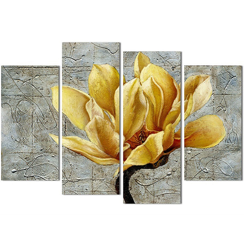 Yellow Flower Wall Art popular hotel room art-buy cheap hotel room art lots from china