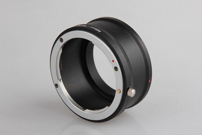 Adaptador de montaje del anillo para Nikon lente Nikon Sony E NEX montaje NEX3 NEX5 lente de cámara adaptador AI-NEX