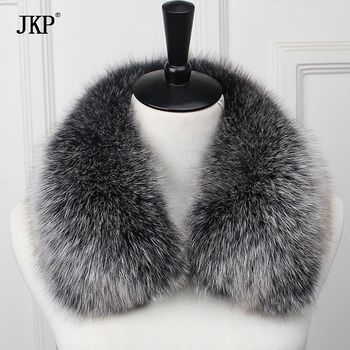 New 100% Real Fox Fur Collar 60cm Scarf Womens Genuine Natural Fox Fur Scarves Collar new 2019 real fox fur handbag 100